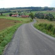 Droga Olszyny w kier. p. Ręklewskiego po