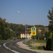 Oświtlenie przy DW 980 w Rzepienniku Strzyżewskim